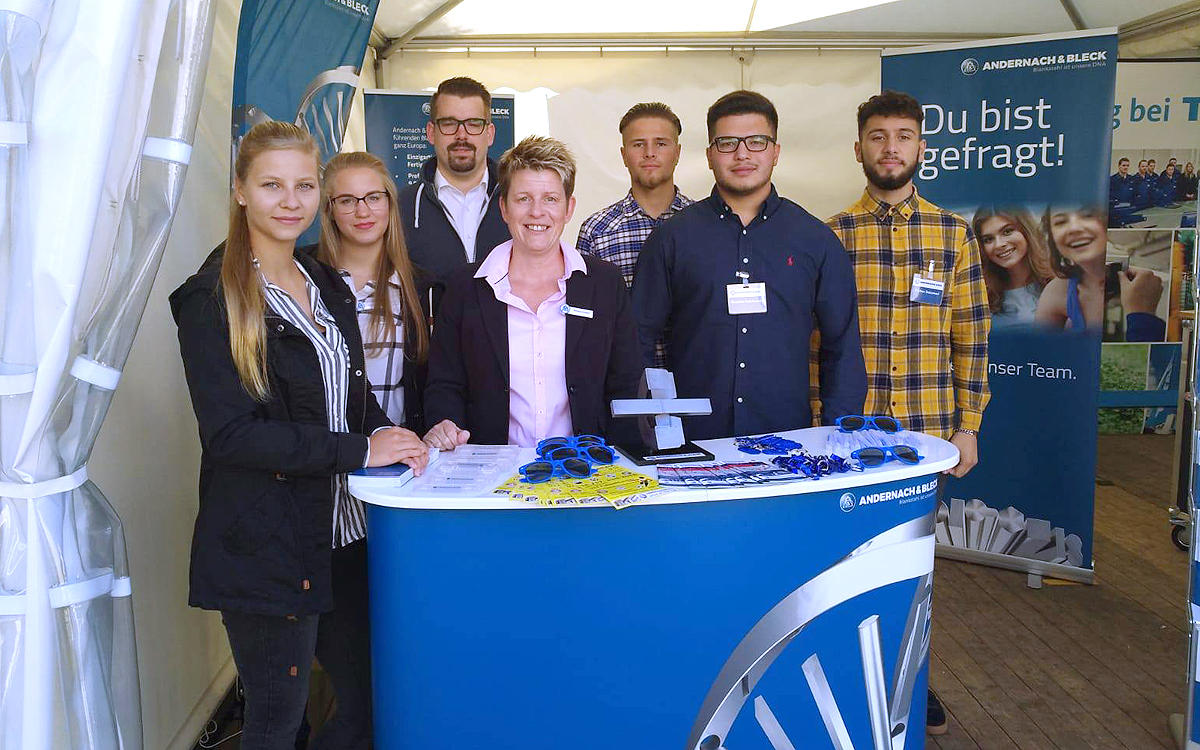 Andernach & Bleck at SIHK Aapprenticeship fair